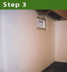 Step 3: Create a vapour barrier