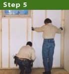 Step 5: Install the Wall