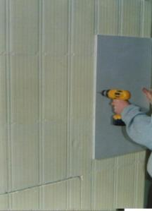 Attaching Drywall to ICF