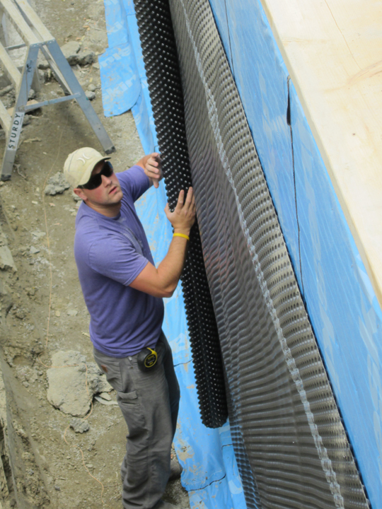 Foundation Damp Proofing Walls : What to use for damp proofing on my icf foundation