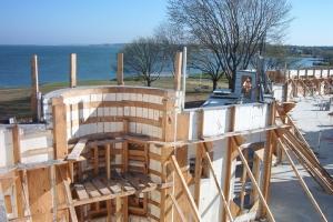 Wood Scaffolding