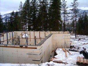 Advantage icf system plasti fab for Best weather to pour concrete