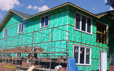 Renovating Your Home With Plasti Fab Exterior Sheathing Plasti Fab