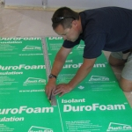 DuroFoam Insulation for basement floors