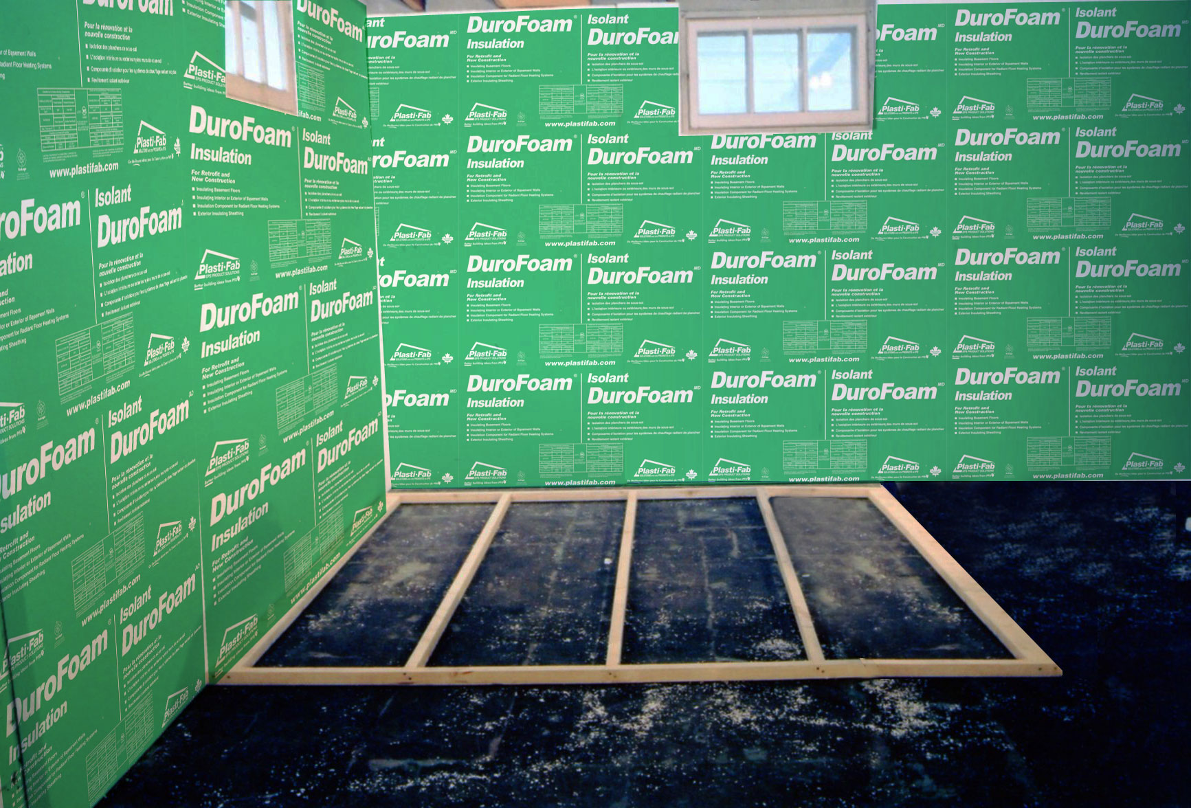 Interior Insulation For Foundation Basement Walls Plasti Fab Wiring A To Code In Ontario Learn
