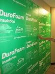 DuroFOam Insulation for interior basement walls