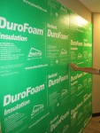 DuroFOam Insulation for interior basement walls