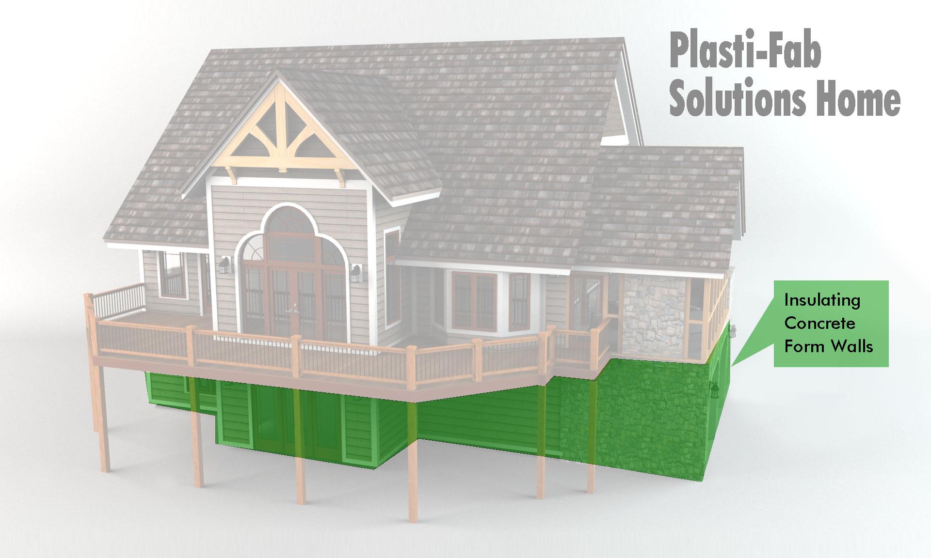 Advantage icf system plasti fab - Build wire fence foundation ...