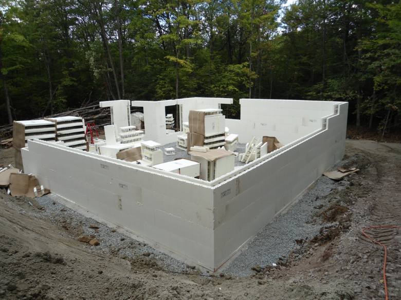 What Does An Advantage Icf Basement Look Like Plasti Fab