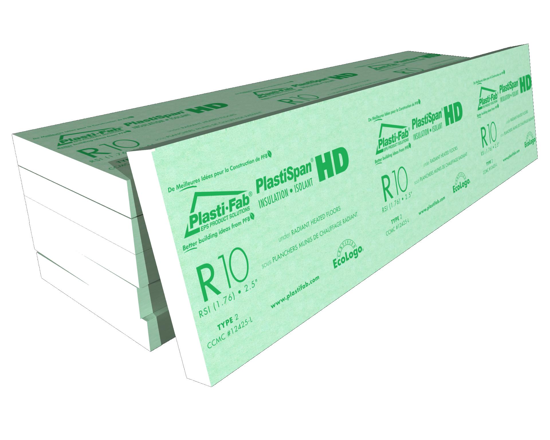 Radiant Floor Heating using PlastiSpan HD Insulation | Plasti-Fab
