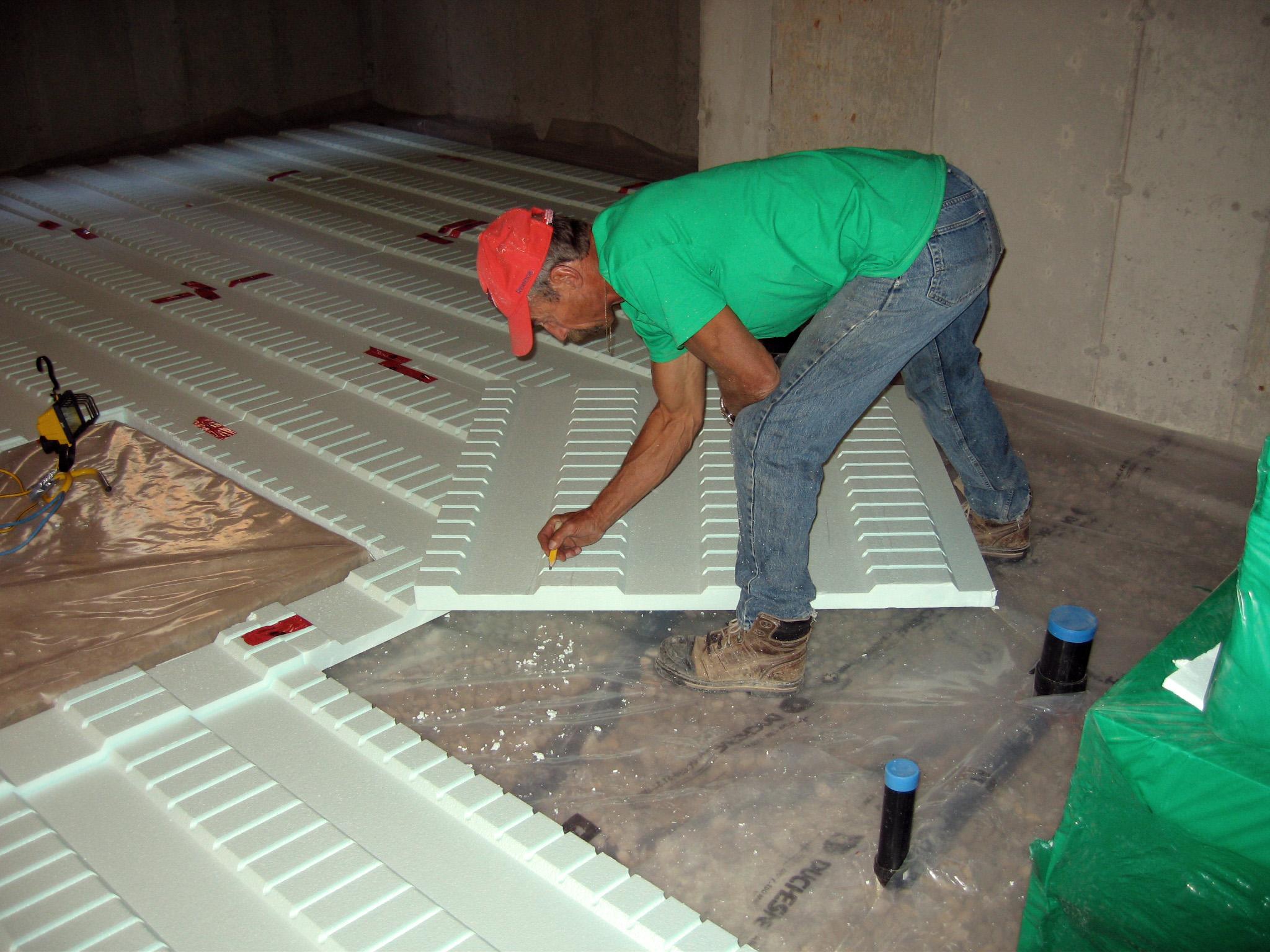 Plastispan Hd Hydronic Insulation For Radiant Floor