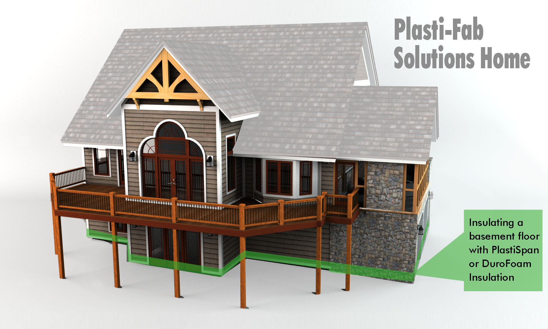 insulating a basement floor with plastispan insulation plasti fab