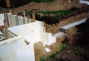 Footings - rebar vertical