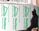 Exterior Sheathing with PlastiSpan Insulation
