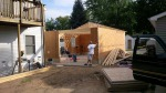 Up go the SIP walls in only a few hours thanks to the precut process by Insulspan