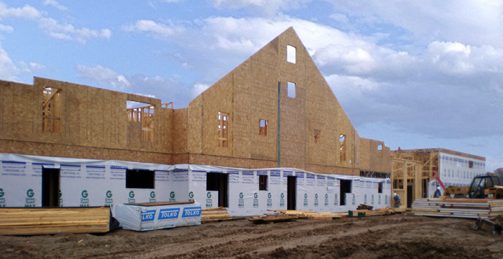 Insulspan SIPs for Walls and Roof