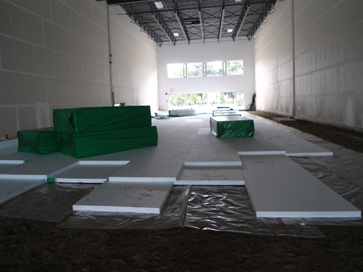 underslab high compressive