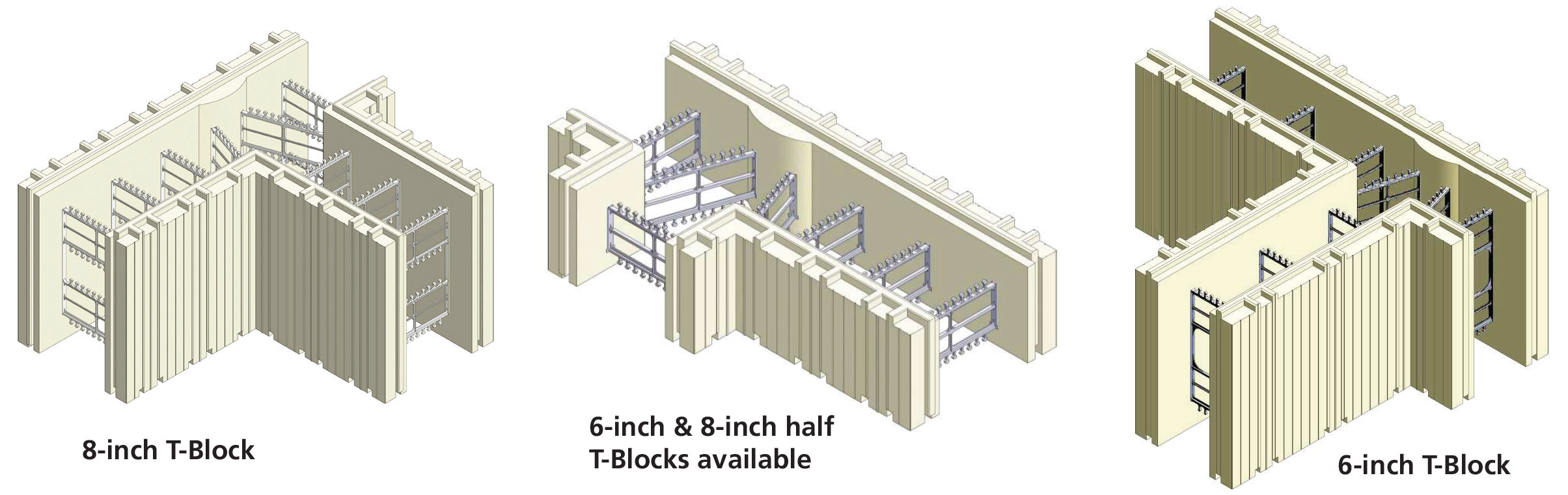 Advantage icf system plasti fab for Icf block