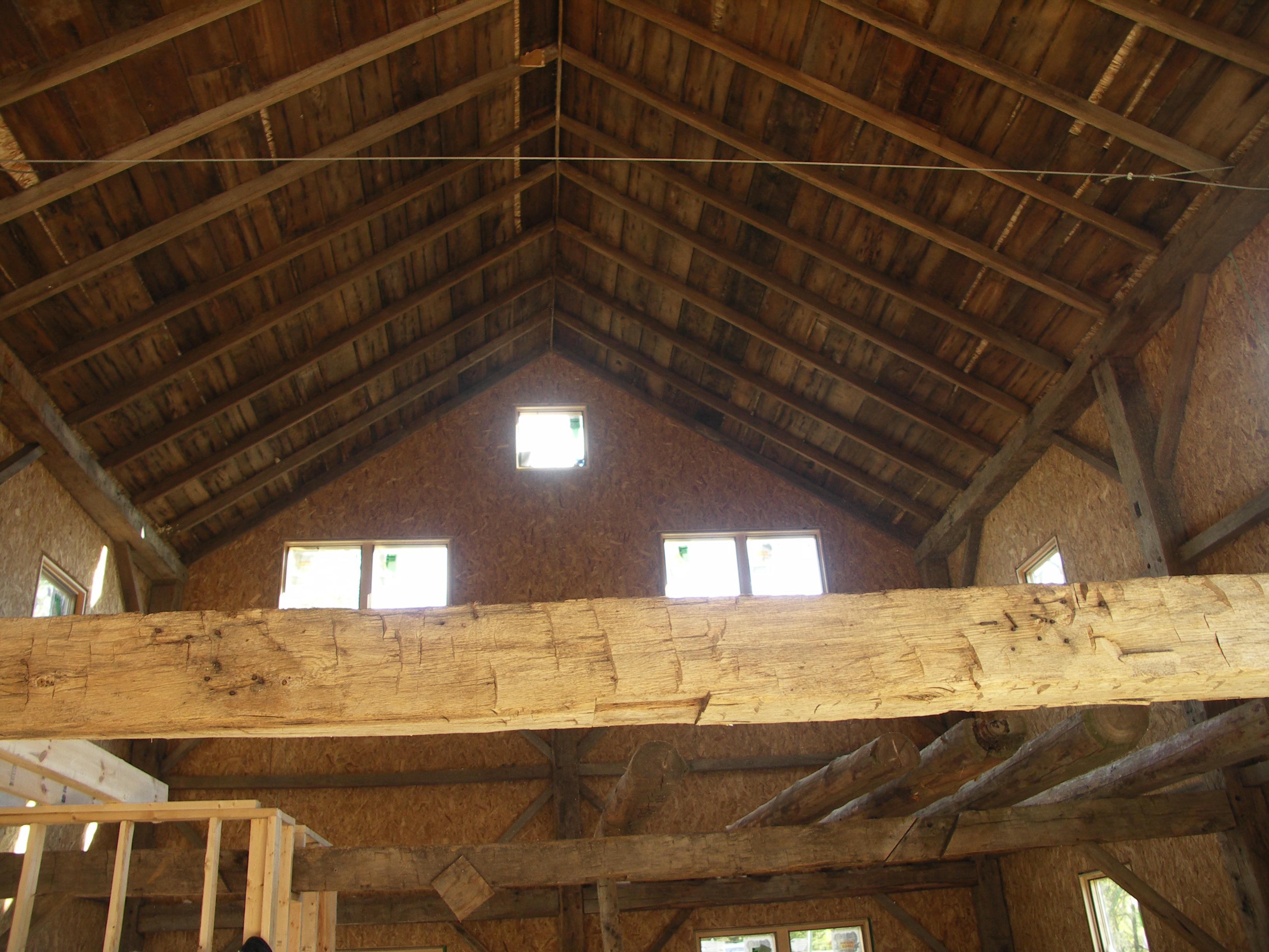 Insulspan 174 Sips Help Turn An 1840s Barn Into An Energy