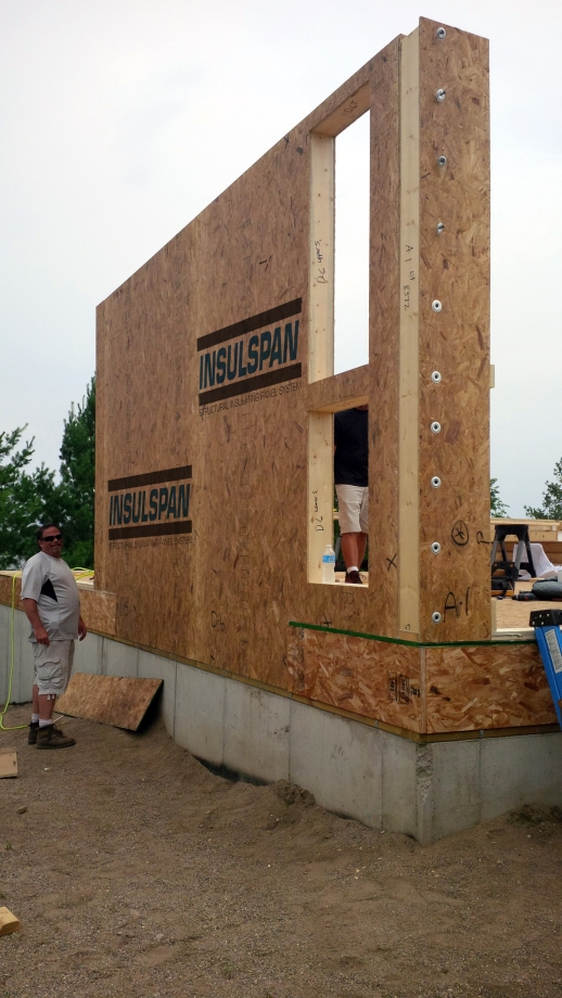 Insulspan SIPS are fast, strong, and easy to assemble