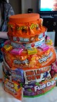 The EPS supports the weight of the candy