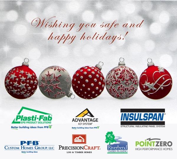 Happy Holidays from PFB