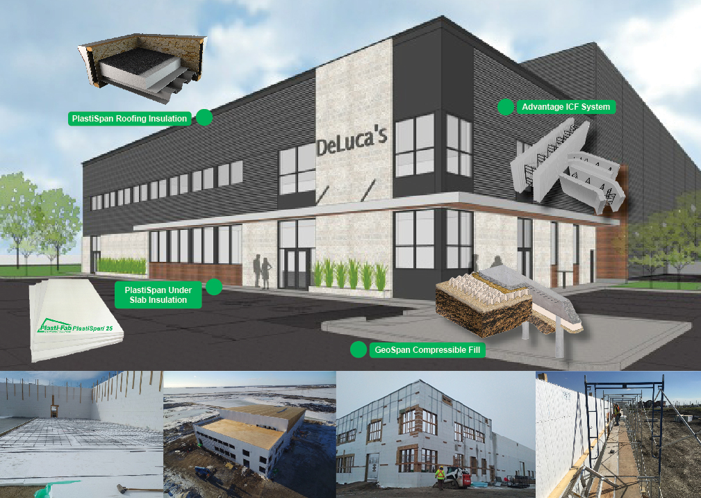 Plasti-Fab Products For an Energy Efficient Warehouse Store